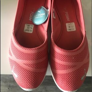 PUMA coral flats with air cushion